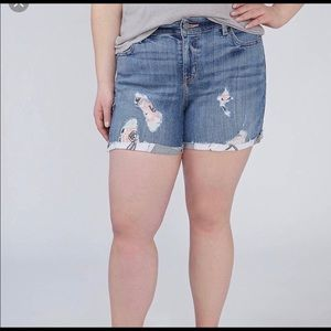 Lane Bryant Girlfriend Shorts